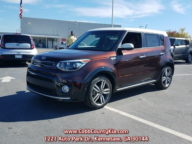 New 2017 KIA SOUL + AUTO Front Wheel Drive Hatchback